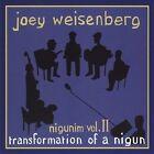 Joey's Nigunim Volume II, Transformation of a Nigun by Joey Weisenberg (CD, May-2012, Mechon Hadar)