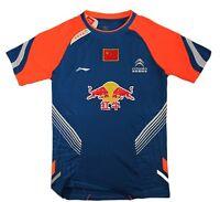 2013 Li Ning Men's Sports Clothing Chinese National Flag Badminton T-shirt