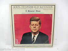 KENNEDY A MEMORIAL ALBUM LP 33 GIRI 2099
