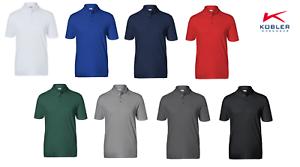Arbeitsshirts-Poloshirts-T-Shirt-KUBLER-8-Farben-200g-m-Baumwolle-Polyester