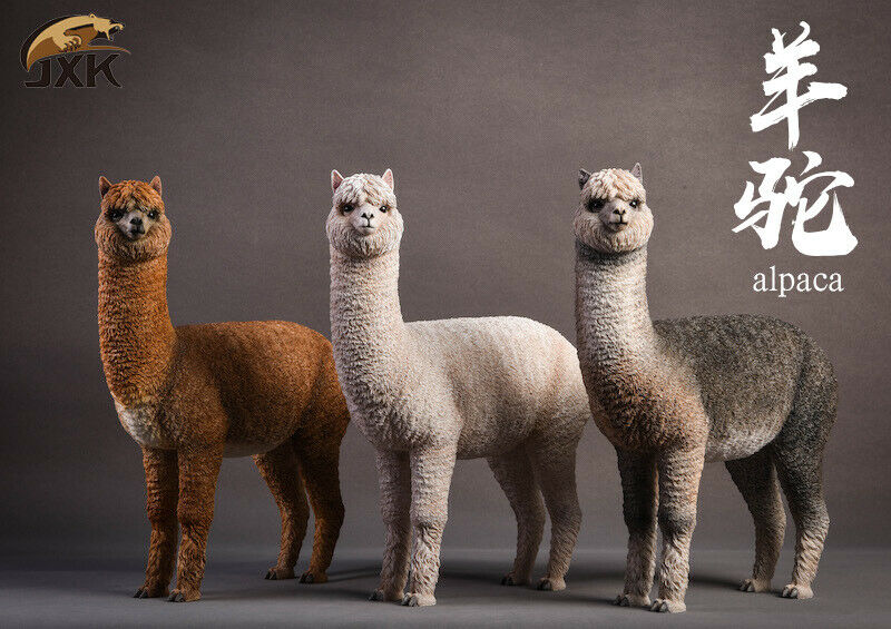 JxK.Studio Jxk011 16 Alpaca Animal modellolo Display Collectible giocattolo Static Decorat