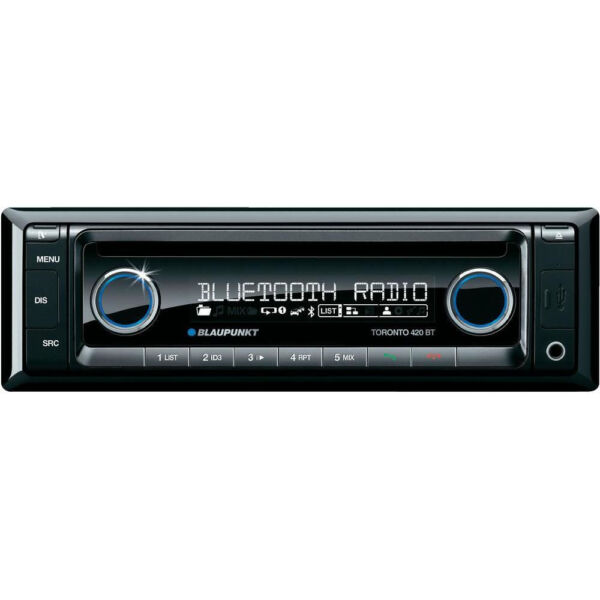 blaupunkt toronto 420 bt usb mp3 autoradio ebay. Black Bedroom Furniture Sets. Home Design Ideas