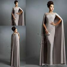 2017 Elie Saab Gray Lace Edged Evening Dress Celebrity Pageant Prom Party Gown