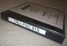 Rosco Leeboy Tru Pac 915 Roller Operation Maintenance Service Shop Parts Manual
