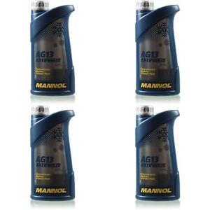 4L-Kuehlflussigkeit-MANNOL-Antifreeze-AG13-Special-Frostschutz-gruen