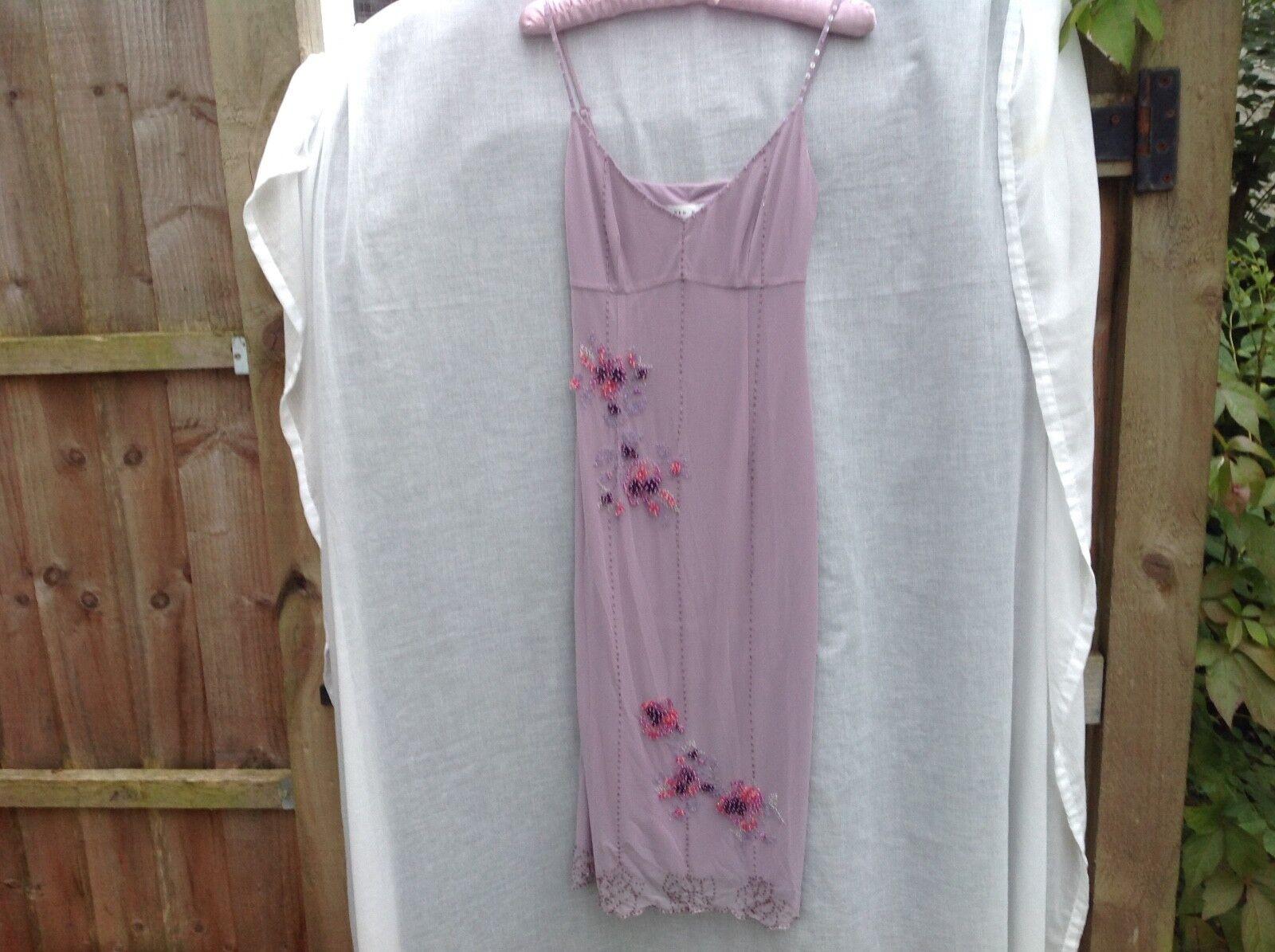 KAREN MILLEN SIZE 8 purple DRESS. Worn Once. Orig  Also Sellig similar.