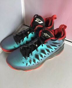 5282d06387d5b0 Air Jordan CP3.VI 6s Red Royal Blue Basketball Shoes 535808-901 SIZE ...