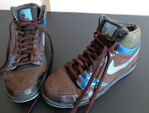 buy popular 13d94 5a31e Image is loading NIKE-Court-Force-High-Premium-Shoes-313941-311-