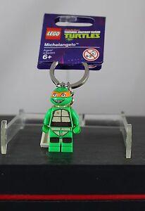 Lego-Teenage-Mutant-Ninja-Turtles-Michelangelo-850653-Schluesselring-Keyring-Neu