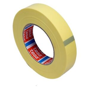 tesa-4289-1-Rolle-25mm-66m-Tubeless-Strapping-Tape-Band-Fahrrad-Felge-No-Tube