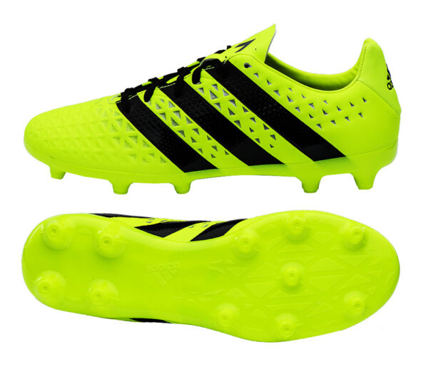 513247f19 Adidas ACE 16.3 FG AG (S79713) Soccer Cleats Football Shoes Boots