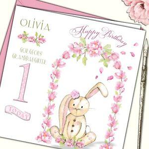 3d Tarjeta de Cumpleaños Pop Up Unicornio ideal para Grand hija sobrina Girl
