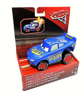 Fabuloso Rayo McQueen mit Rückstoßmotor Mattel Disney Cars 3 FBG12