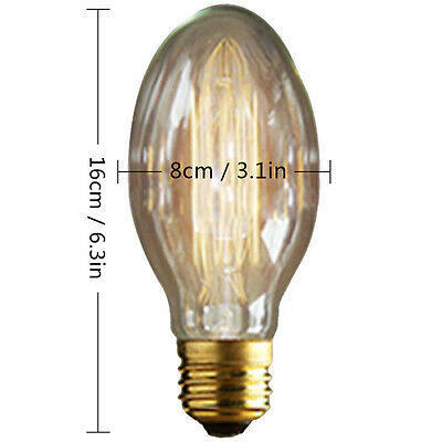 Lámparas de techo retro industriales de la lámpara del estilo de Edison 40W E27