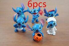 Hot Model Stitch Soup Flower Stitch Plush Toys Anime Lilo and Stitch PVC Animal