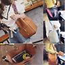 UK 2PCS Women Leather Messenger Ladies Shoulder Bags Handbag Purse Tote Satchel