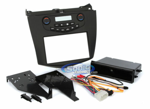 Metra 99-7803G Single//Double DIN Stereo Dash Install Kit for 03-07 Honda Accord