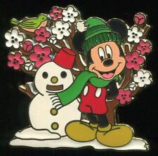 JDS Flowers of Japan Plum Blossom Mickey Mouse January LE Disney Pin 68436