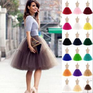 Layers-Women-Adult-Tutu-Tulle-Skirt-Bridal-Petticoat-Wedding-Dress-Ball-Gown