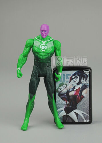 "3.75/"" Dc Marvel Series Action  Figure Green Lantern Abin Sur Toy"