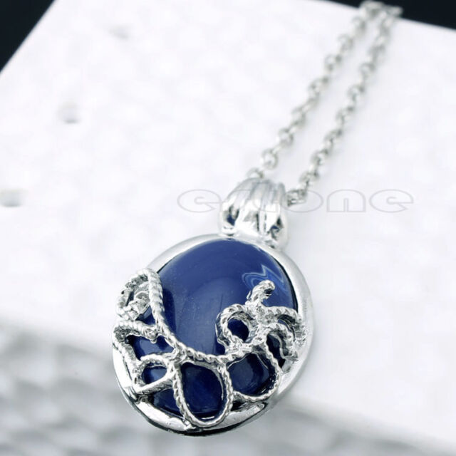 Katherine Anti-sunlight Lapis Lazuli Vintage Chain Necklace