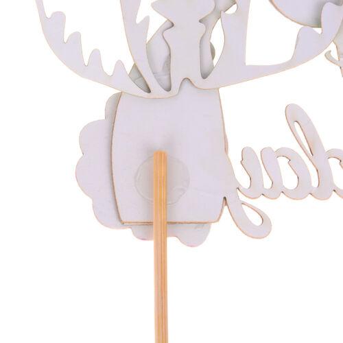 Starfish Mermaid Happy birthday Cake Toppers Cupcake Baby Shower DIY Gifts P0 LL