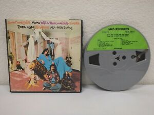 SONNY-AND-CHER-Mama-Was-A-7-IPS-4-Track-Reel-To-Tape-1973-MCA-MCAS-2102-C