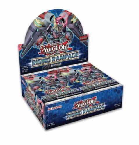 YU-GI-OH TCG Rising Rampage Booster Box 1st Edition