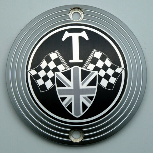 Motordeckel links Triumph Bonneville T120 Thruxton R Street Twin Bobber matt