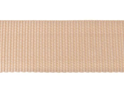 Dicke 1,3 mm HELLBEIGE Gurtband Bänder 30mm breit 10m lang