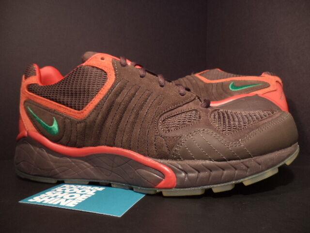 2018 Nike Zoom Air Talaria Barroco 311704231 marrón Verde Deporte Rojo 311704231 Barroco Nuevo 9.5 101919