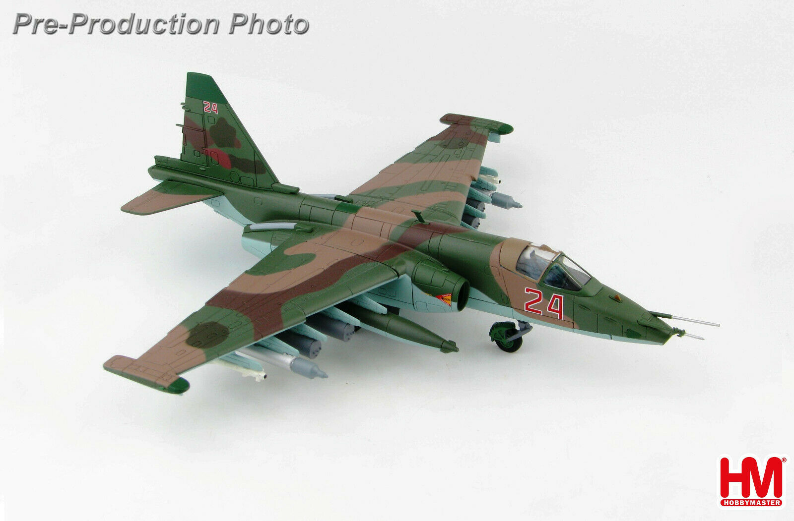 Hobby Master HA6101 172 SU25 Sm Frogfoot Rosso 24 Russo Air Force Latakia