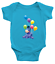 Infant-Baby-Boy-Girl-Rib-Bodysuit-Clothes-Gift-Eeyore-Gloomy-Donkey-Balloons thumbnail 5