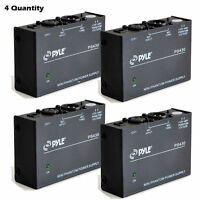 Pyle Ps430 Compact 1 Channel 48v Phantom Power Supply (lot Of 4) on sale