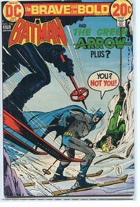 Brave-and-the-Bold-106-Fine-Batman-Green-Arrow-Jim-Aparo-Dc-Comics-CBX40B