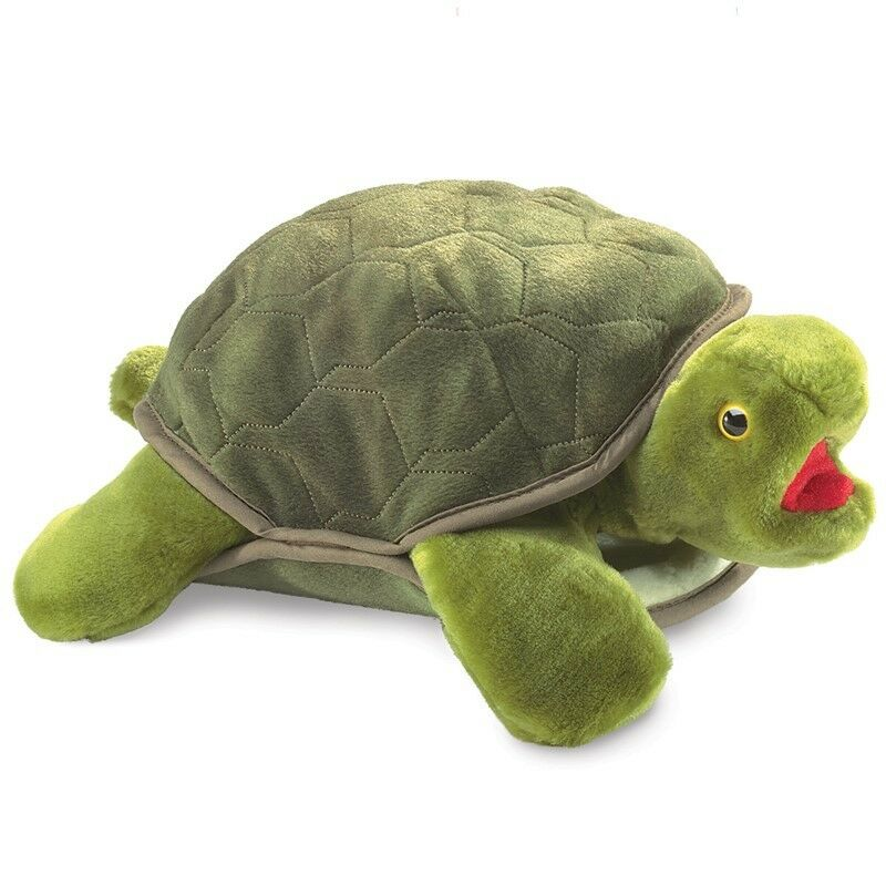 TURTLE PUPPET  Free Shipping in USA  Folkmanis Puppets