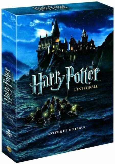 HARRY POTTER - L'intégrale des 8 films - Coffret 8 DVD neuf sous cellophane