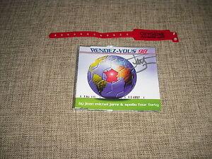JEAN-MICHEL-JARRE-RENDEZ-VOUS-98-AUTOGRAPHED-CD-SINGLE-GIFT-ELECTRONICA