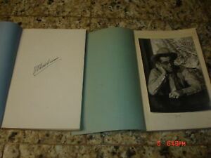SIGNED-1ST-edition-1-amp-2-NOTEBOOK-OLD-WEST-HUTCHINSON-HISTORY
