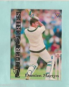 1994 FUTERA SUPER SERIES  CRICKET CARD SS5  DAMIEN MARTYN
