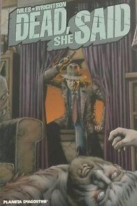 DEAD-SHE-SAID-di-Steve-Niles-e-Bernie-Wrightson-Planeta-de-Agostini