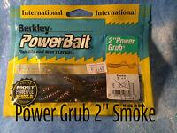 Berkley POWERBAIT Power Grub 2''  esche siliconiche trota persico reale cavedano