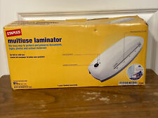 New Listingstaples 17466 Laminator 95 Thermal And Cold Laminating Machine