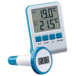 mit Sonde La Crosse Technology Wetterstation für Schwimmbecken