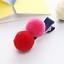 UK Seller NEW Cute Double Fluffy Pom Pom Hair Clip