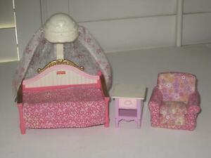 fisher price loving family twin time dollhouse bedroom