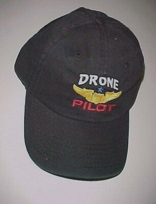 UAV Pilot Embroidered Low Profile Ball Cap Available 7 Colors hat