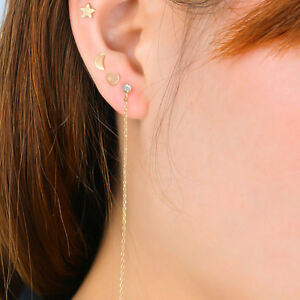 Women-039-s-3pcs-Cute-Small-Moon-Star-Heart-Ear-Stud-Earrings-Set-Punk-Jewelry-L