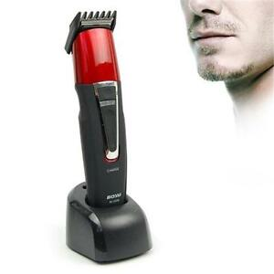 Electric-Rechargeable-CordlessHair-Beard-Trimmer-Clipper-Cut-Kit-HaircutShaverRA