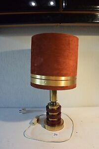 C34 Ancienne Lampe De Bureau Art Deco Ebay